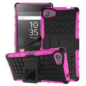 Outdoor odolný kryt pre mobil Sony Xperia Z5 Compact - rose - 1