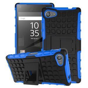 Outdoor odolný kryt pre mobil Sony Xperia Z5 Compact - modrý - 1