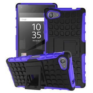 Outdoor odolný kryt na mobil Sony Xperia Z5 Compact - fialový - 1