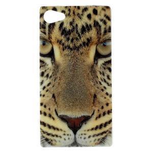 Gélový obal pre mobil Sony Xperia Z5 Compact - leopard - 1
