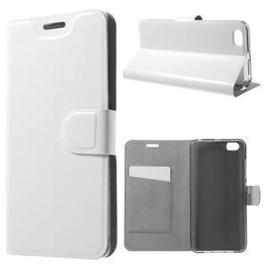 Horse peněženkové pouzdro na mobil Xiaomi Mi5 - bílé - 1