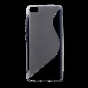 S-line gelový obal na mobil Xiaomi Mi5 - transparentní - 1