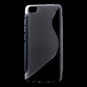 S-line gélový obal pre mobil Xiaomi Mi5 - sivý - 1