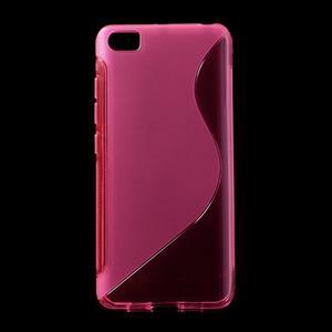 S-line gelový obal na mobil Xiaomi Mi5 - rose - 1