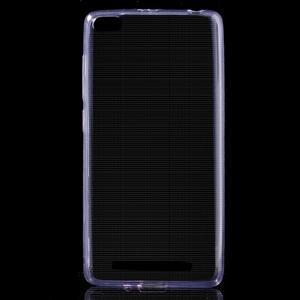Ultratenký slim gelový obal na mobil Xiaomi Redmi 3 - fialový - 1