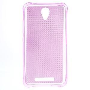 Diamonds gélový obal pre Xiaomi Redmi Note 2 - rose - 1