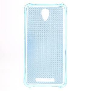 Diamonds gélový obal pre Xiaomi Redmi Note 2 - modrý - 1