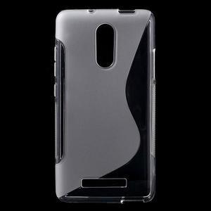 S-line gélový obal pre Xiaomi Redmi Note 3 - transparentné - 1