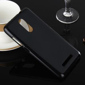 Matný gélový obal pre Xiaomi Redmi Note 3 - čierný