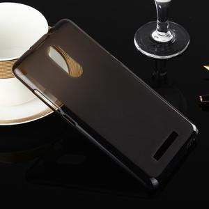 Matný gélový obal pre Xiaomi Redmi Note 3 - sivý