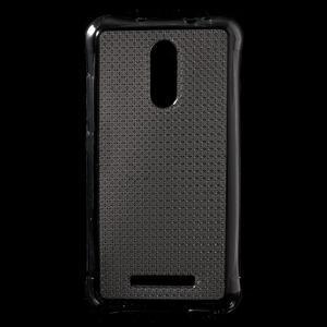 Diamonds gélový obal pre Xiaomi Redmi Note 3 - sivý - 1