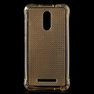 Diamonds gelový obal na Xiaomi Redmi Note 3 - zlatý - 1