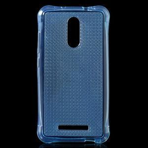 Diamonds gélový obal pre Xiaomi Redmi Note 3 - modrý - 1