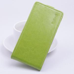 Flipové PU kožené pouzdro na Lenovo Vibe P1 - zelené