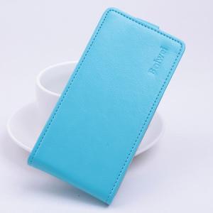 Flipové PU kožené pouzdro na Lenovo Vibe P1 - modré