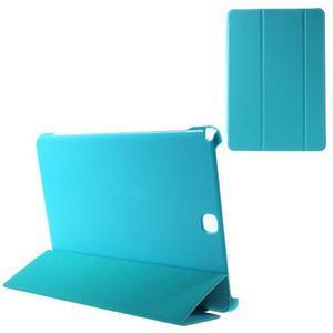 Trifold polohovatelné puzdro pre Samsung Galaxy Tab A 9.7 - svetlo modré - 1