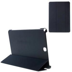 Trifold polohovatelné puzdro na Samsung Galaxy Tab A 9.7 - tmavo modré - 1
