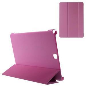 Trifold polohovatelné puzdro pre Samsung Galaxy Tab A 9.7 - rose - 1