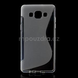 Gélové s-line puzdro pre Samsung Galaxy A5 - transparentný - 1