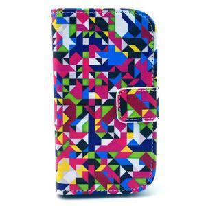 Safety puzdro pre Samsung Galaxy S Duos / Trend Plus - mozaika fareb - 1