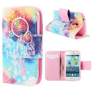 Peňaženkové puzdro pre Samsung Galaxy S Duos / Trend Plus - snívanie - 1