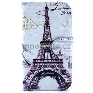 Peňaženkové puzdro na Samsung Galaxy S3 mini - Eiffelova veža - 1