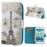 Puzdro na mobil Samsung Galaxy S3 mini - Eiffelovka - 1/7