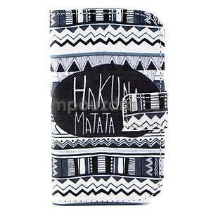 Peňaženkové puzdro na Samsung Galaxy S3 mini - Hakuna - 1
