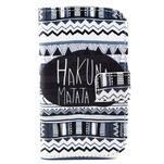 Peňaženkové puzdro na Samsung Galaxy S3 mini - Hakuna - 1/6