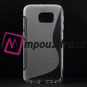 Gélové s-line puzdro na Samsung Galaxy S6 - transparentný - 1