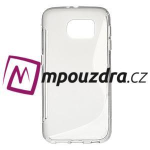 Gélové s-line puzdro na Samsung Galaxy S6 - šedé - 1