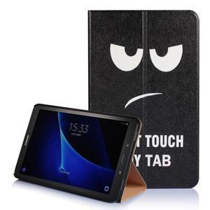 Picture polohovatelné puzdro na Samsung Galaxy Tab A 10.1 (2016) - nedotýkat se - 1