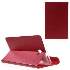 Flippy štýlové puzdro pre Samsung Galaxy Tab A 10.1 (2016) - červené - 1