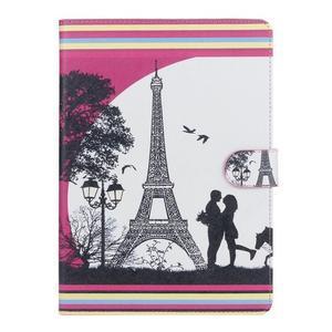 Emotive puzdro pre tablet Samsung Galaxy Tab S2 9.7 - láska pod Eiffelkou - 1