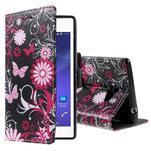 Peňaženkové puzdro na mobil Sony Xperia M2 - motýle - 1/5