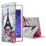 Peňaženkové puzdro na mobil Sony Xperia M2 - Eifellova veža - 1/5