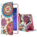 Peňaženkové puzdro na mobil Sony Xperia M2 - mandala - 1/5