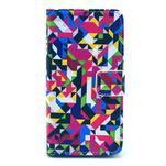 Puzdro pre mobil Sony Xperia Z1 Compact - geometrické tvary - 1/5