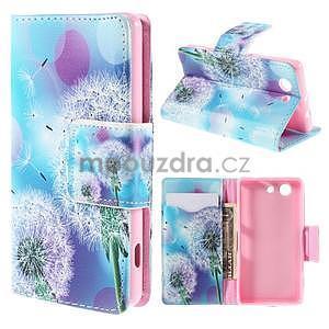 Puzdro na mobil Sony Xperia Z3 Compact - odkvetlé pampelišky - 1
