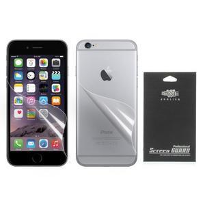 Fólia na displej a na zadný kryt pre iPhone 6 Plus a 6s Plus