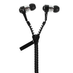 Zippy pecková slúchadlá pre počúvanie hudby - čierne - 1