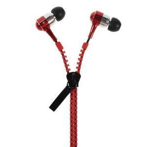 Zippy pecková slúchadlá pre počúvanie hudby - červená - 1