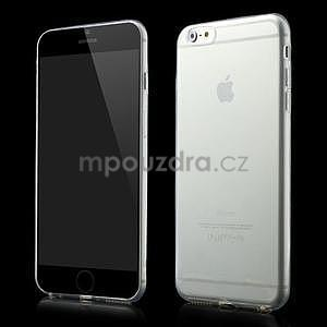 Ultratenký transparentný obal pre iPhone 6 Plus a 6s Plus - 1