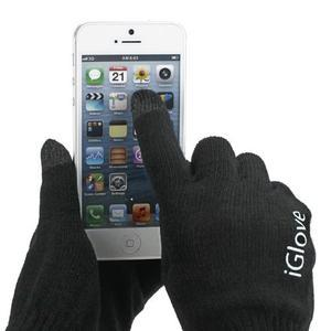 iGlove rukavice na mobil - čierné - 1