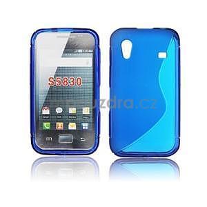 Gélové S-line puzdro pre Samsung Galaxy Ace S5830- modré