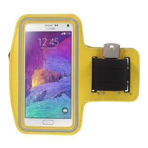 Gym bežecké puzdro na mobil do rozmerov 153.5 x 78.6 x 8.5 mm - žlté - 1