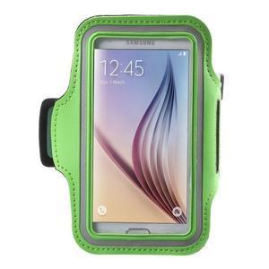 Fittsport puzdro na ruku pre mobil do rozmerov 143.4 x 70,5 x 6,8 mm - zelené - 1