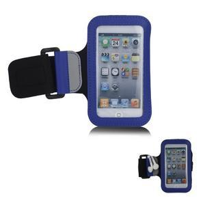 JogyFit športové puzdro na telefón do veľkosti 115 x 60 mm -  modré - 1