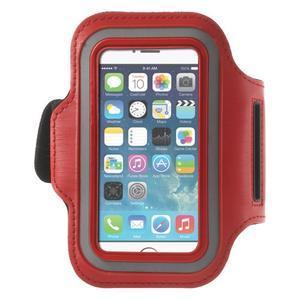 Jogy bežecké puzdro na mobil do 125 x 60 mm - červené - 1