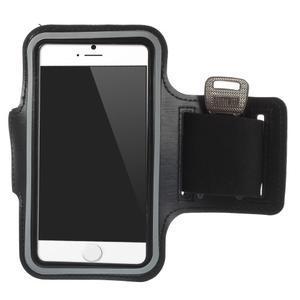 Gymfit športové puzdro pre telefón do 125 x 60 mm - čierne - 1